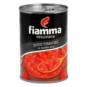 Fiamma Diced Tomatoes in tomato juice