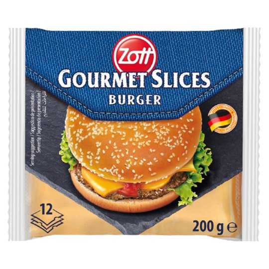 Cheese Gourmet Slices for Burger