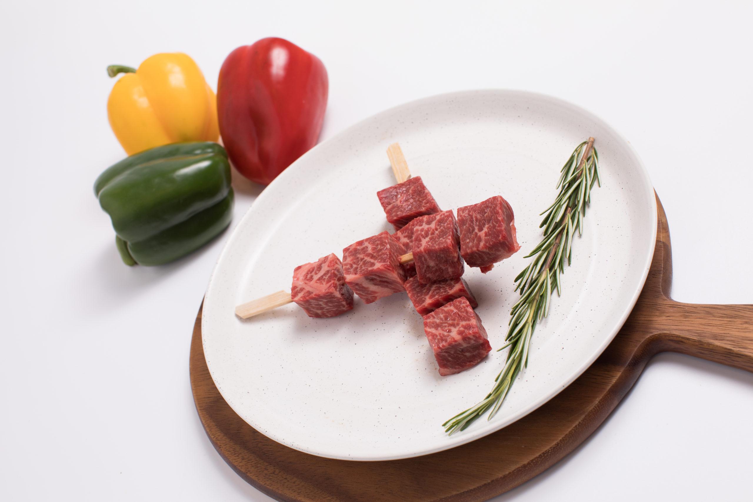 300g of premium Wagyu Beef Skewer