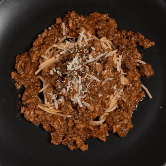 Ragu Bolognese with Spaghetti