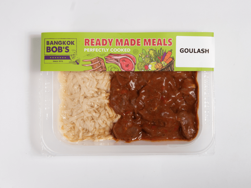 Goulash Packaging Ready Meal