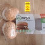 V2 Burger Set Mustard