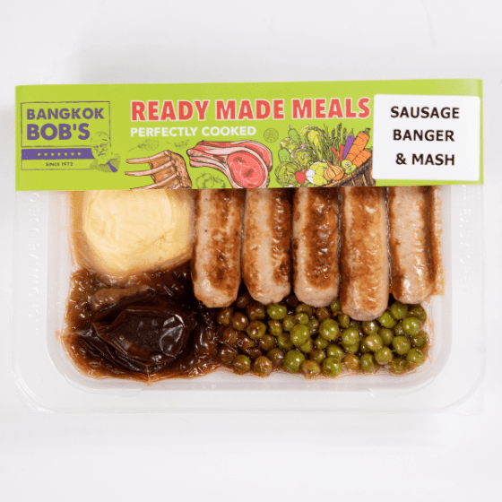 Bangers and Mash Ready Meal