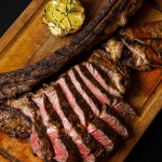 Tomahawk Steak grilled