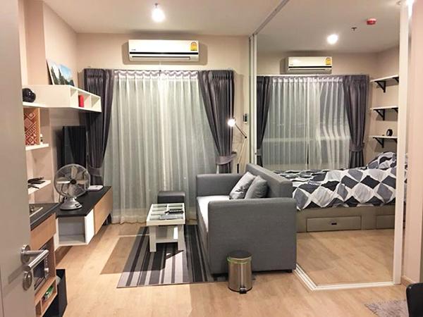 The Tempo Grand Sathorn – Wutthakat (เดอะ เทมโป แกรนด์ สาทร-วุฒากาศ) คอนโดให้เช่า – Bangkok condo for rent | 1 min walk to Wutthakat BTS (วุฒากาศ) | steps to eateries & 7/11 convenience store