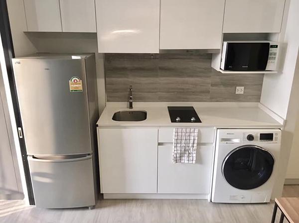 Maestro 02 Ruamrudee (มาเอสโตร 02 ร่วมฤดี) คอนโดให้เช่า – Bangkok condo for rent | 850 m. to Phloen Chit BTS (เพลินจิต) | pet friendly, fitted kitchen + washer