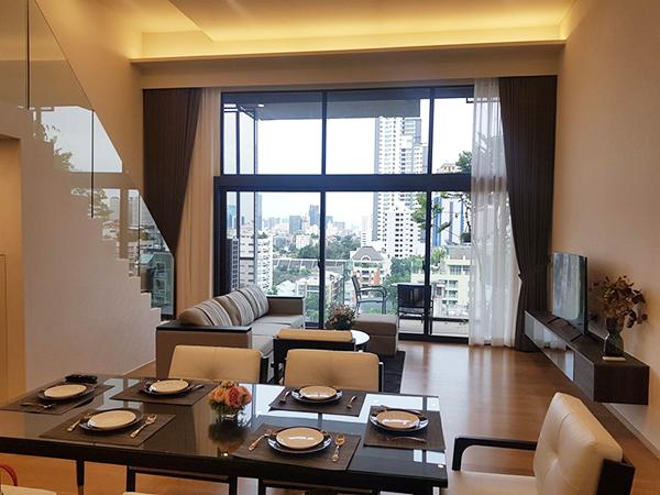 Siamese Exclusive 31 (ไซมิส เอ็กซ์คลูซีฟ สุขุมวิท 31) คอนโดให้เช่า – Bangkok condo for rent   1.1-1.3 km. to Sukhumvit MRT /Asoke-Phrom Phong BTS (พร้อมพงษ์)   duplex type, bathtub, private lift