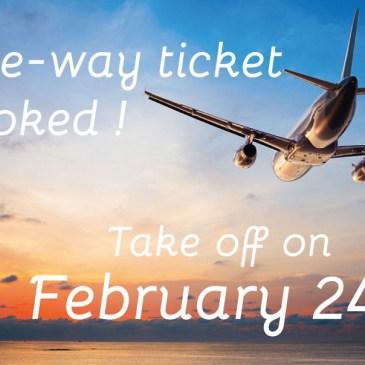 La grande aventure débutera le 24 février !