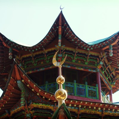 L'une des plus ancienne mosquée de la région construite selon les technologies antismiques ancestrales chinoises.