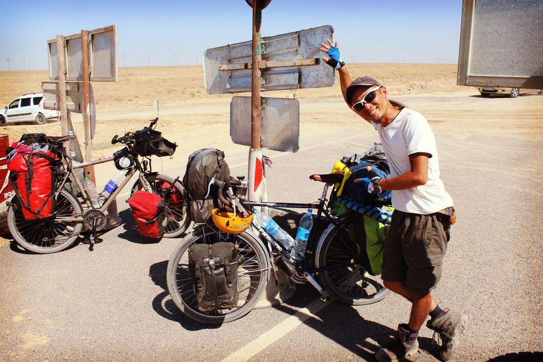 De nouveau au Kazakhstan, en route vers l'Iran