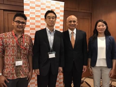 HULFT Pte. Ltd. เซ็นข้อตกลงเป็นพันธมิตร HULFT Implementation กับ Fujitsu Indonesia เพื่อเพิ่มกำลังกรอบงานการขายและการซัพพอร์ตการติดตั้ง สำหรับซีรี่ส์ HULFT ในอินโดนีเซีย