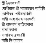 Bharater Sadhak contents 1