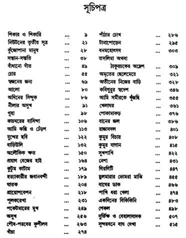 Amar Ekannati Galpo content