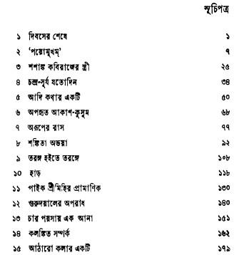 Jagadish Guptar Galpa content