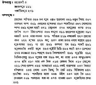 Banaphul Rachanabali contents 13