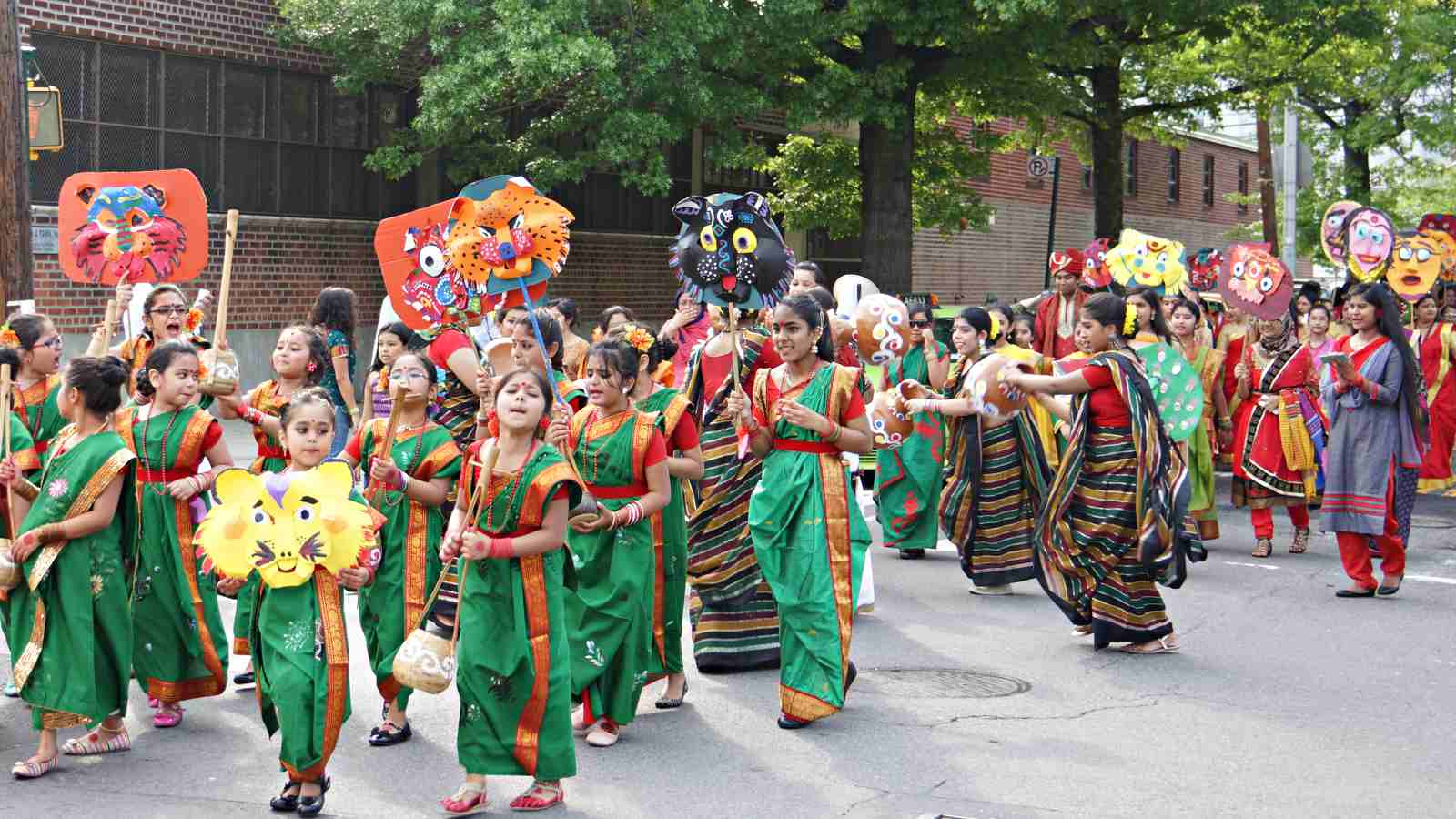 BIPA Bangla Mela Parade