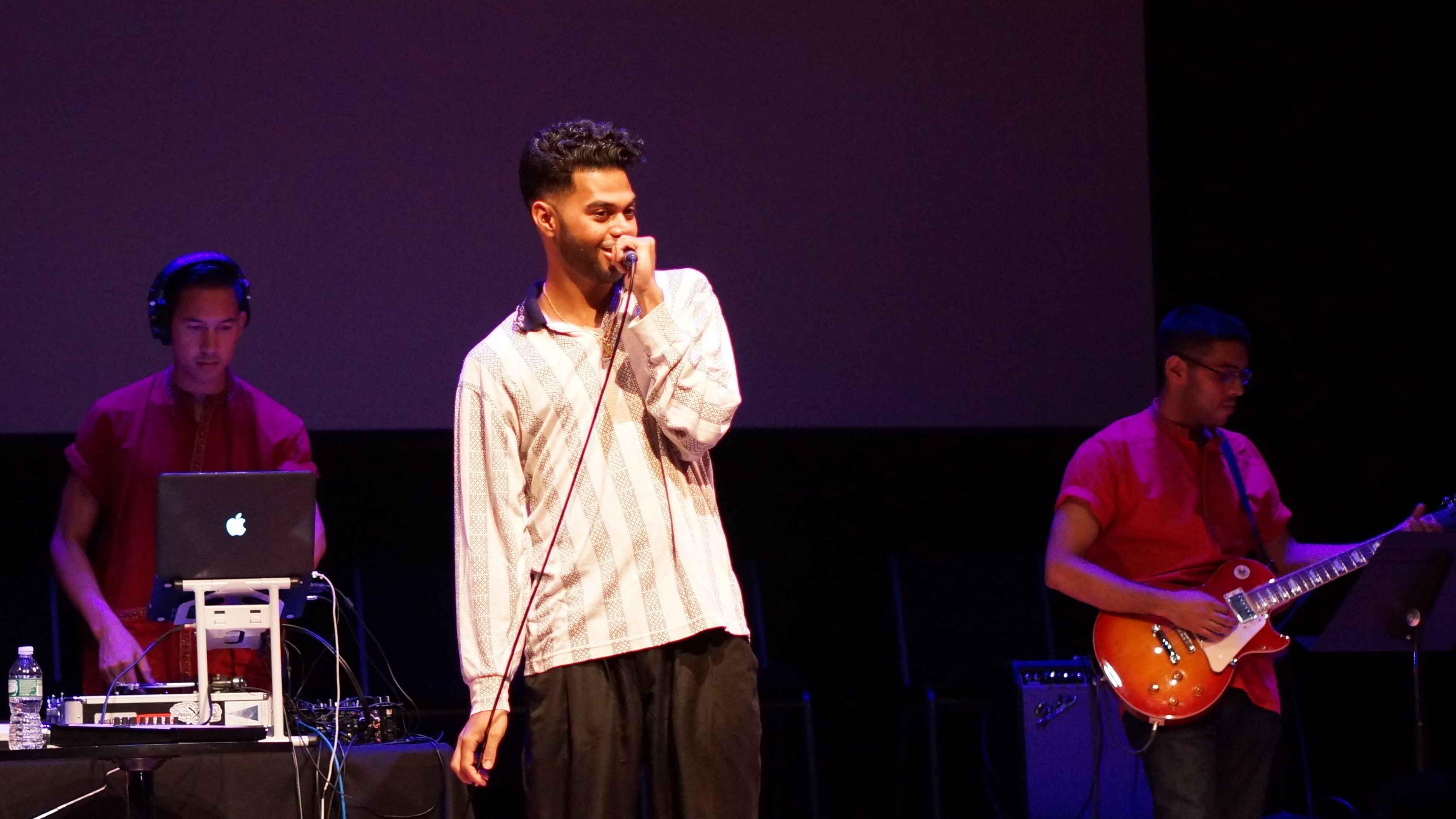 Bangladeshi hip-hop singer Anik Khan