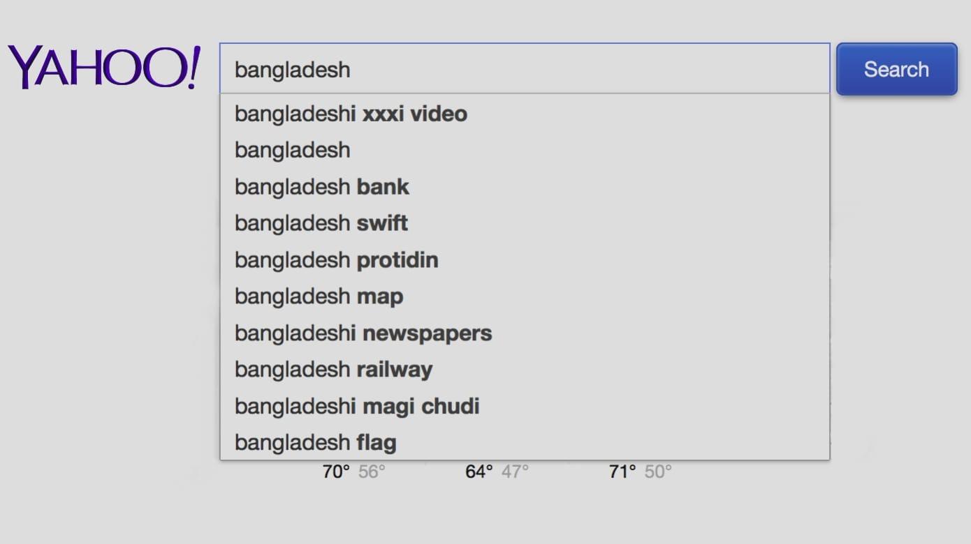 Bangladesh on Yahoo