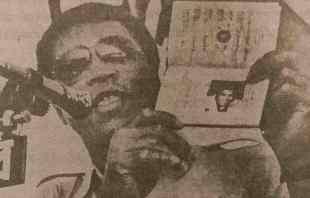 Ali shows his Bangladesh passport