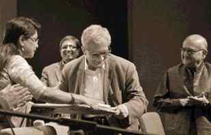 Dr. Amartya Sen in Bangladesh