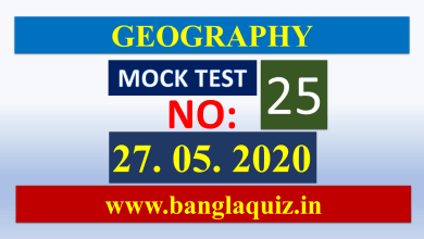 Photo of Geography – Mock Test 25