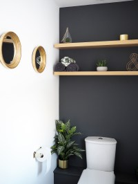 HOME | Downstairs Bathroom dark Grey Makeover - Bang on Style