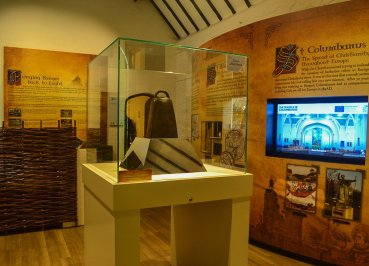 Bangor Bell in North Down Bangor Museum in Northern Ireland