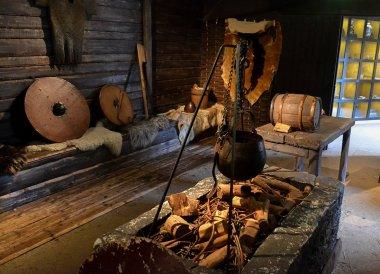 Bronze Age Exhibition. North Down Bangor Museum in Northern Ireland