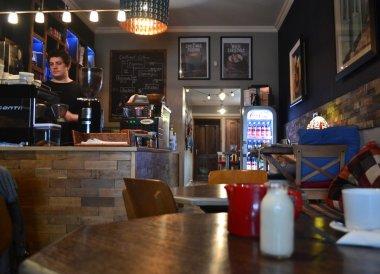 Guillemot Kitchen Cafe, Eisenhower Pier in Bangor Northern Ireland