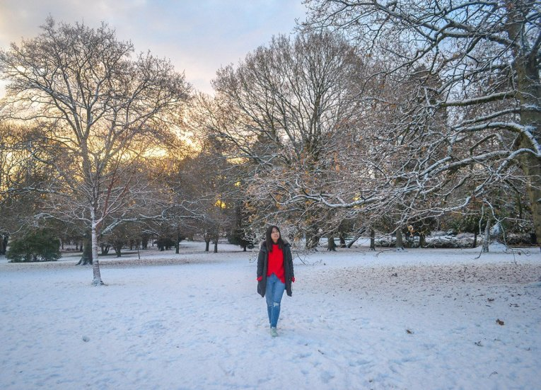 Christmas Time in Castle Park, Tourist Attractions in Bangor Northern Ireland