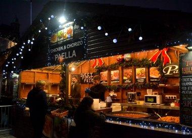 Belfast Christmas Market at City Hall Northern Ireland