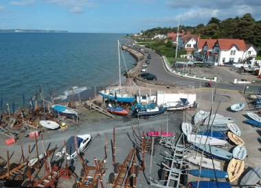 Cultra Yacht Club, North Down Coastal Path Bangor to Holywood