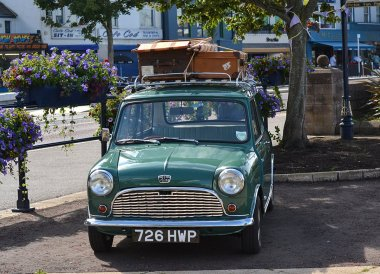 Vintage Cars at the Open House Festival Seaside Revival in Bangor Northern Ireland