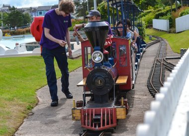 Pickie Puffer Train, Pickie Fun Park in Bangor Northern Ireland
