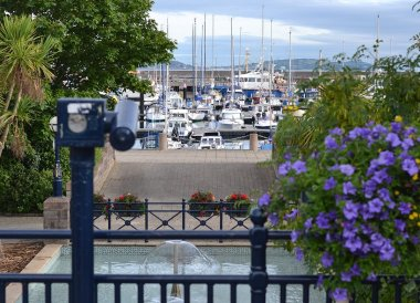 Car Park Fountains, Tourist Attractions in Bangor Northern Ireland