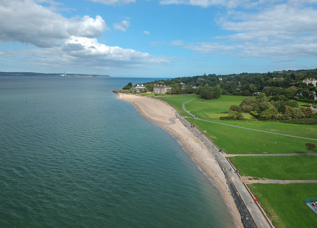 Seapark Beach Holywood, North Down Coastal Path Bangor to Holywood