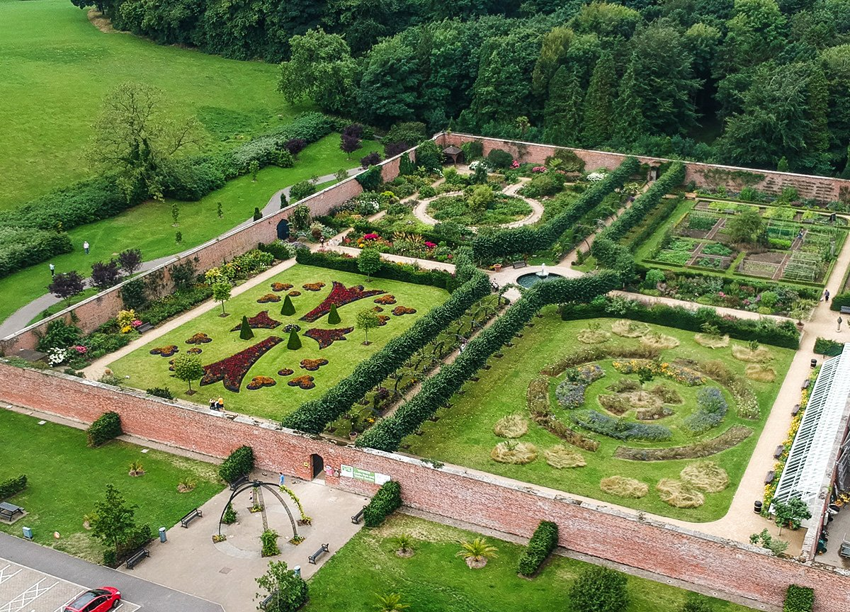Victorian Walled Garden, Tourist Attractions in Bangor Northern Ireland