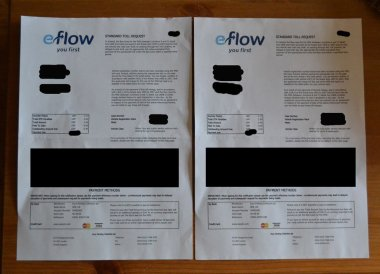 eflow fine letter, Eflow Fine Northern Ireland, Pay the M50 Toll Fine Dublin Ireland