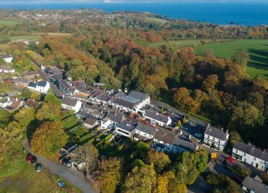 Crawfordsburn Village, Crawfordsburn Country Park in Bangor Northern Ireland