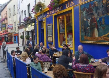 Bars in Galway City, Wild Atlantic Way Road Trip West Coast of Ireland