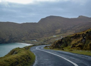 Roads on Achill Island, Wild Atlantic Way Road Trip West Coast of Ireland
