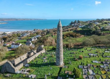 Round Tower Ardmore, Wild Atlantic Way Road Trip West Coast of Ireland