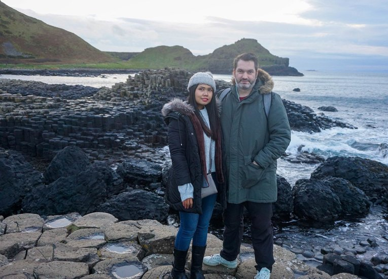 Allan and Fanfan Wilson, Free Entry to the Giants Causeway N Ireland