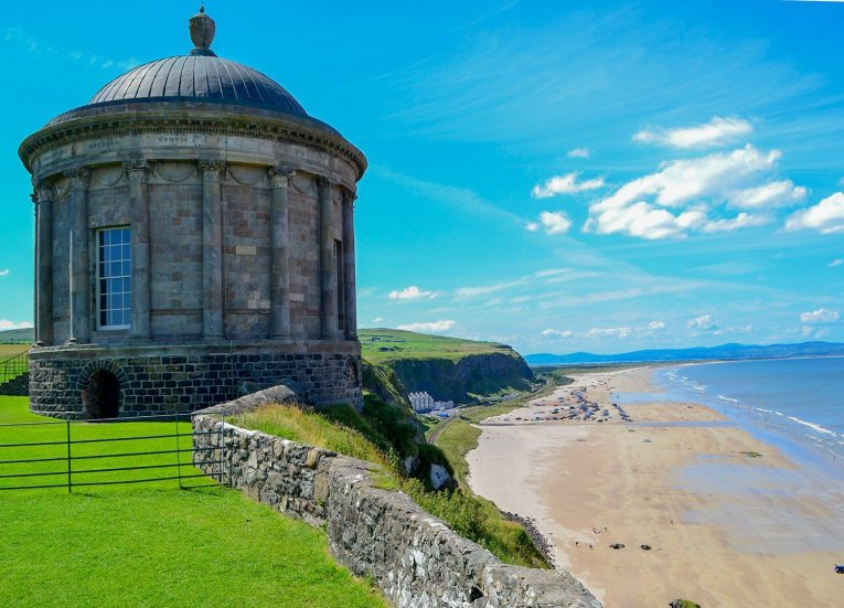 Mussenden Temple, Things to do in Northern Ireland Tourist Attractions