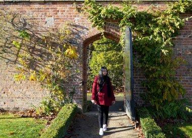 Entrance Gates toBangor Castle Walled Garden Bangor N Ireland
