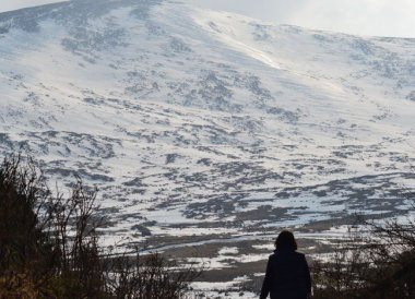 Snow in Mourne Mountains, Things to do in Northern Ireland Tourist Attractions