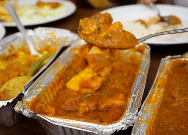 Indian Vindaloo, Best Takeaway Food in Northern Ireland Chip Shops