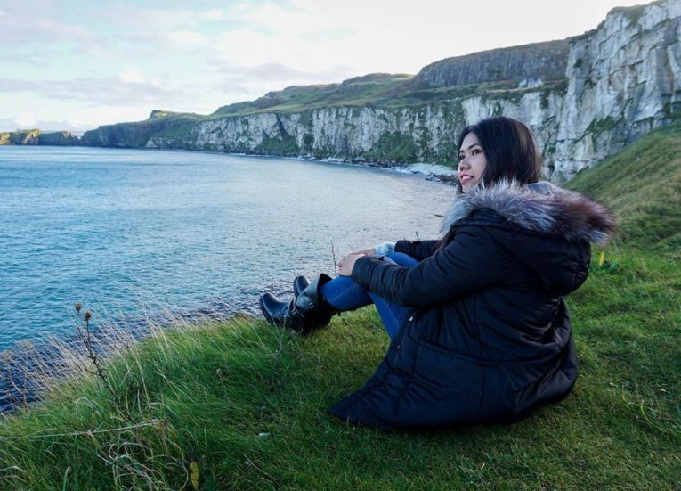 Carrick-a-rede Cliffs, GIants Causeway Coastal Route Tourist Attractions