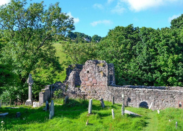 Layd Church Cushendall, GIants Causeway Coastal Route, Northern Ireland
