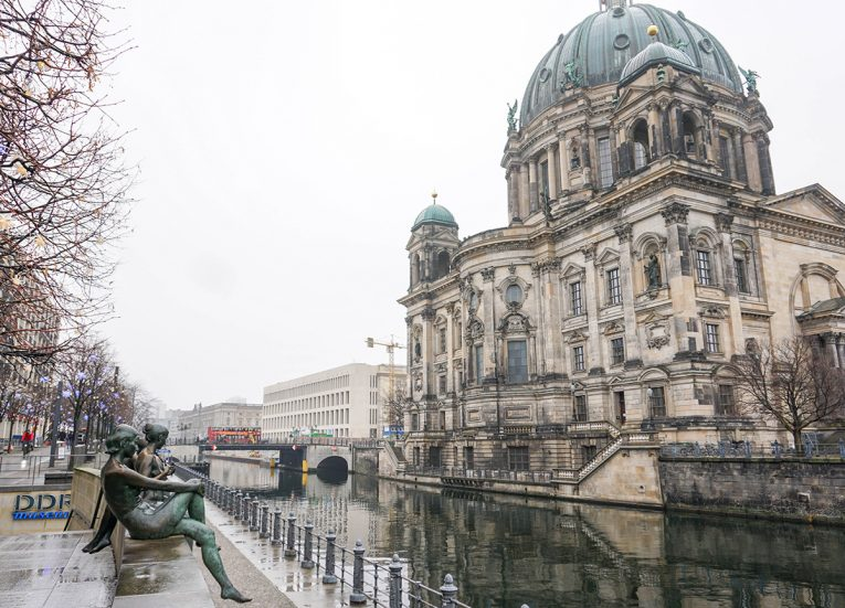 The River Spree, Interrail in Winter: Train Travel in Europe Itinerary